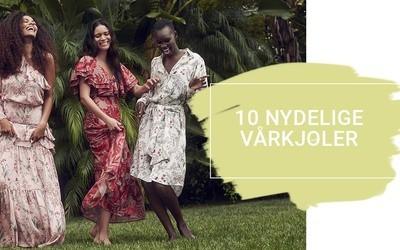 10 nydelige vårkjoler