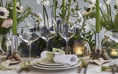 Festlig borddekking