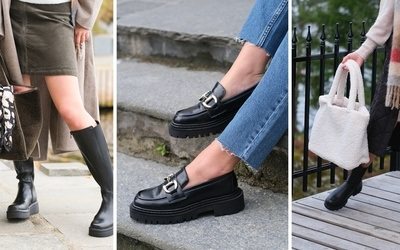 Hvilke sko og tilbehør bør du velge i høst?
